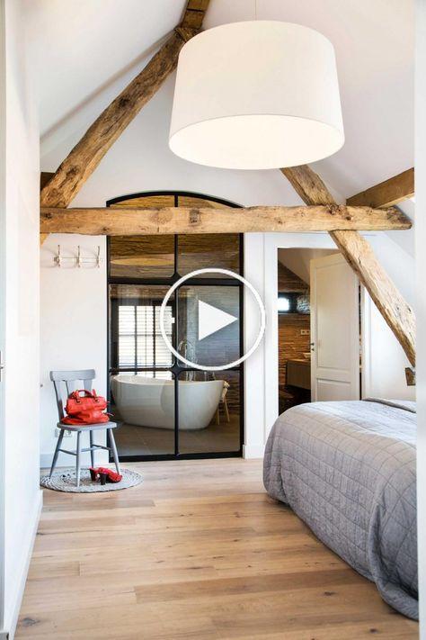 Ein Wunderschones Anwesen Holzbalken Im Schlafzimmer Holzbalken