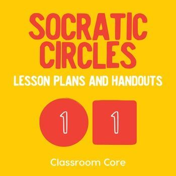 Socratic Circles: Engage your students in high-level dialogue through Socratic Seminars. This resource details the steps for implementation of Socratic Circles, and it includes great templates and student guides. Included in this lesson plan:CCSS and suggested learning targetsStep-by-step instructions to implement Socratic CirclesColorful templates for grouping students Student guides for reading text and writing effective questionsStudent worksheets Exit slip for student reflection21 pages ...