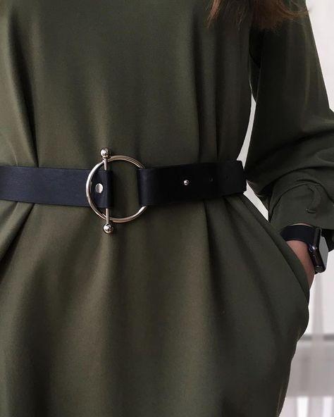 Трендовый пояс с кольцом-защелкой.  пояс ремень belt accessoires details детали черный пояс черный ремень широкий пояс black belt accessory woman belt  belts