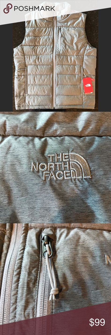NWT The North Face Aconcagua Vest, Heather Grey, L Brand new, tags attached, The North Face Aconcagua Vest, color: The North Face Medium Grey Heather Heather, men's size large (standard fit) The North Face Jackets & Coats Vests