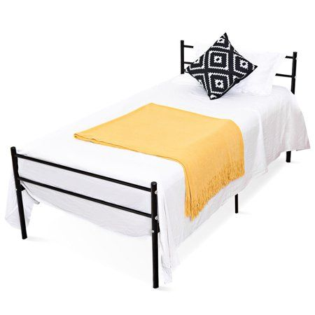 Home Twin Size Metal Bed Frame Headboards Furniture Metal Bed Frame
