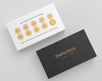 Loyalty Card Punch Card Rewards Card Loyalty Card Etsy Loyalty Card Template Punch Cards Loyalty Card