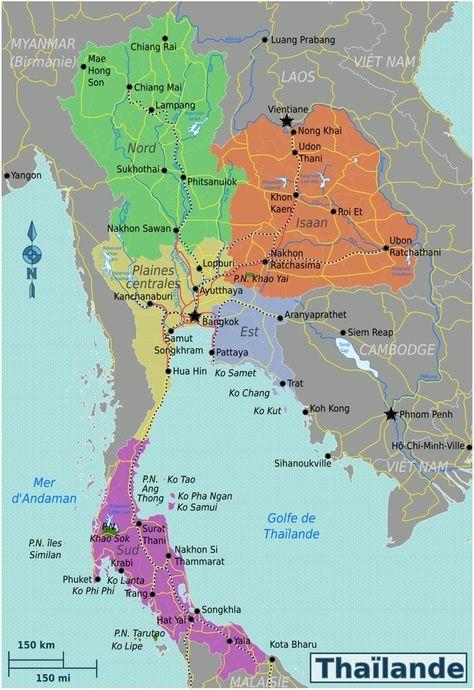 Carte Thailande Hong Kong.Pinterest Pinterest