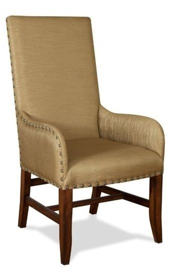 Gold Luxe Arm Dining Chair Leather Side Chair Dining Chairs