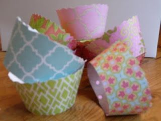 Make Your Own Cupcake Wrappers - Free Cupcake Sleeve Template