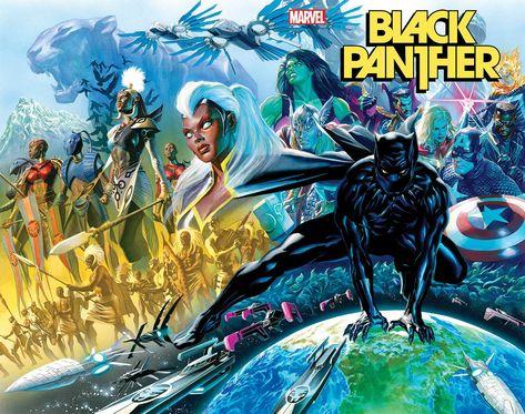 BLACK PANTHER #1 (08/04/2021) (11/03/2021)