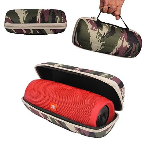 Cheap Galopar Travel Zipper Flip Case Bag Hard Carry Cover Bag Pouch For Jbl Charge 3 Bluetooth Speaker Camouflage Be Jbl Wireless Speakers Bluetooth Bag Cover