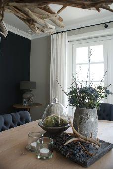... wonen landelijke stijl dienblad decoratie painting colours landelijke
