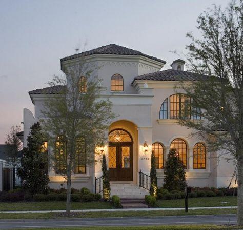 25 Stunning Mediterranean Exterior Design Small Luxury Homes Mediterranean Homes Luxury House Plans