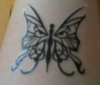 0e11a150b Lupus tattoo - the wolf & the butterfly | Tatts