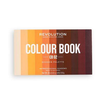 Makeup Revolution Colour Book Eye Shadow Palette Cb02 Coloring Books Shadow Palette Makeup Revolution