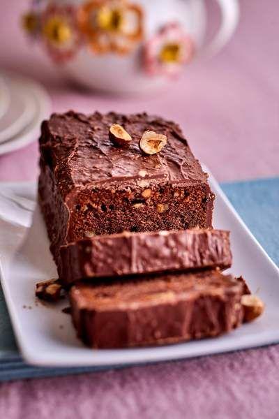 Gateau Aux Pepites Pralinees Gateau Chocolat Chocolat Vegetalien Recette Gateau