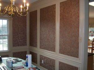 20++ Dining room box molding ideas