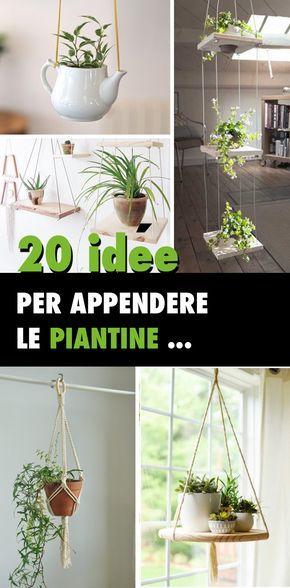 Piante Da Appartamento Da Appendere.Appendere Le Piantine Dentro Casa 20 Idee Lasciatevi Ispirare