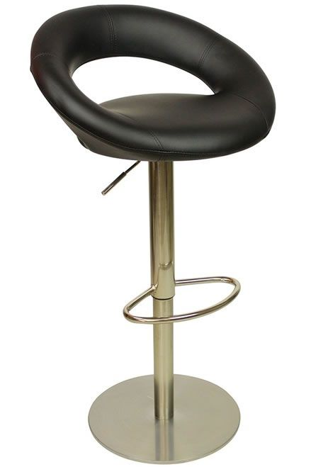 Fine Soren Deluxe Kitchen Breakfast Bar Stool Padded Seat Machost Co Dining Chair Design Ideas Machostcouk