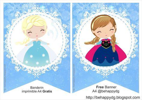 photo regarding Free Printable Birthday Decorations identify Listing of Pinterest frozen birthday decorations no cost printable