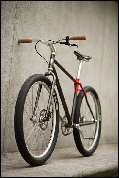 Single speed fat bicycle