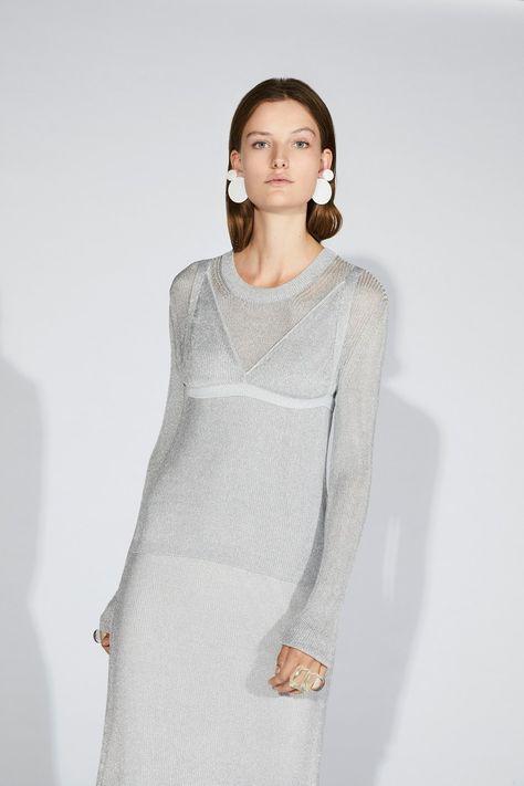 Vestiti Cerimonia Krizia.Krizia Resort 2019 Fashion Show Maglieria