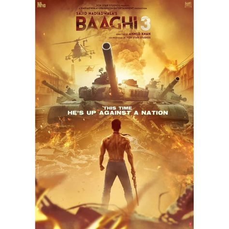 Baaghi 3 Trailer Out It Is Tiger Shroff And His Bulging Biceps