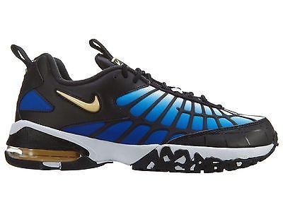Nike Air Max 120 Mens 819857-400 Hyper Blue Black Running Training Shoes Sz  8.5 9fc51d321