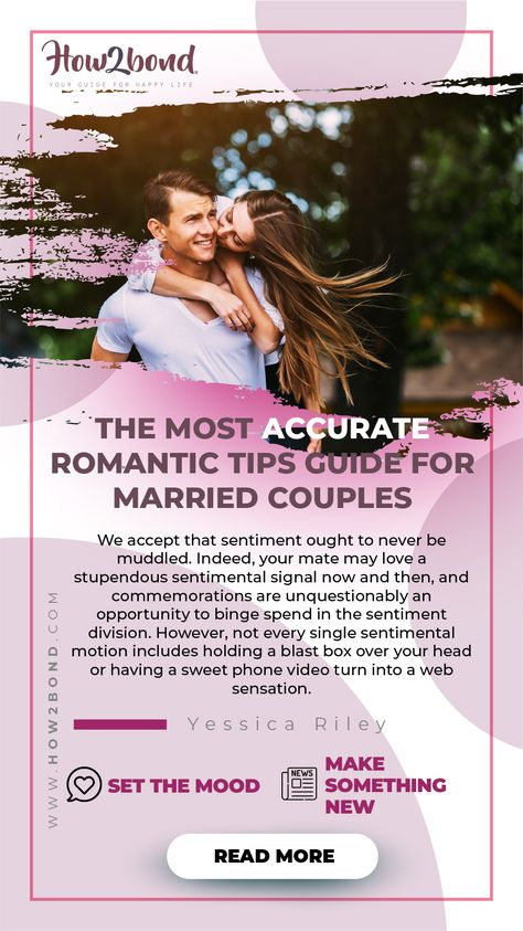 The Most Accurate Romantic Tips Guide for Married Couples