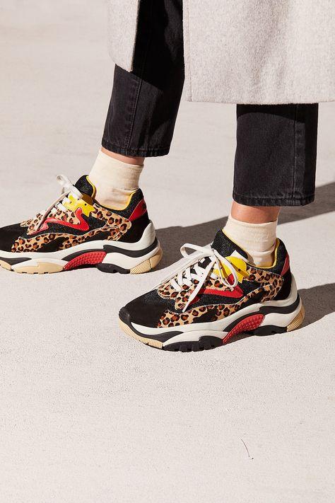 Cheetah Miles Sneaker | Free People