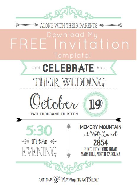 Wedding Budget Breakdown for Planning Your Big Day Martha - free invitation download