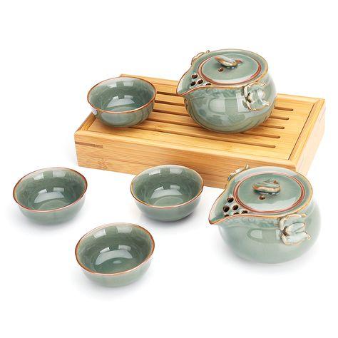 Us1499 Chinesischer Longquan Celadon Tee Der Werkzeug