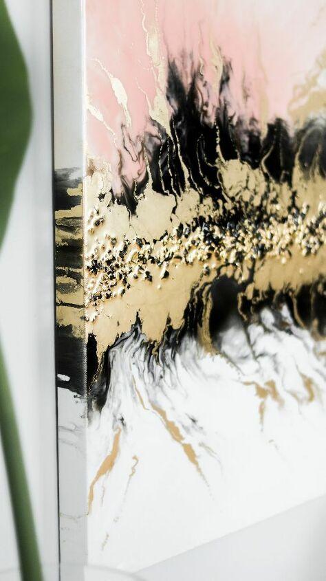 How To Make Fluid Resin Art Diy Resin Art Art Diy Resin