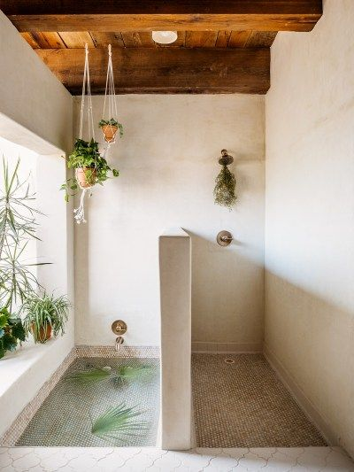 dream boho shower / tub