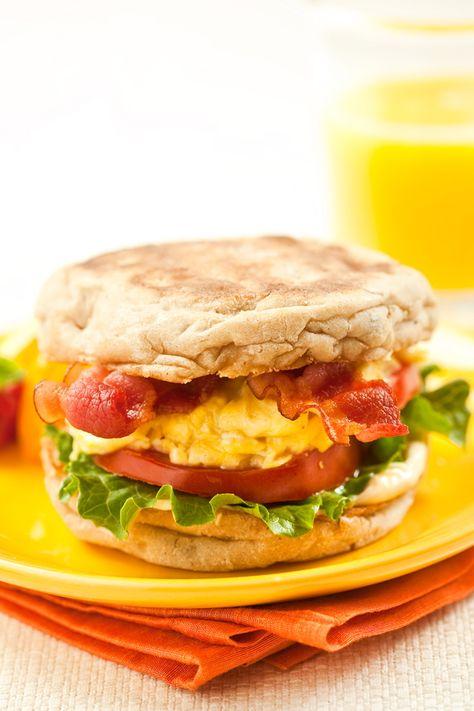 Marlene Koch Breakfast BLT Sandwich