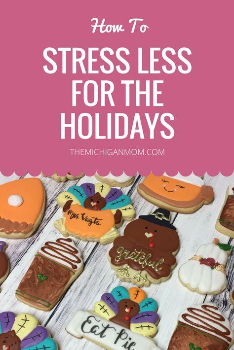 ad Minimize Holiday Stress  ...