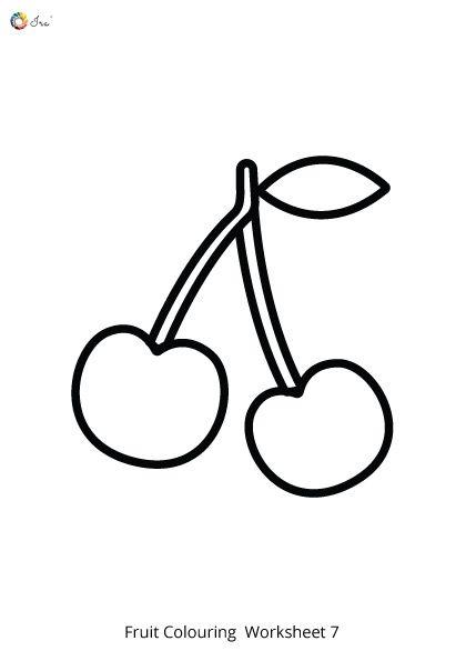 Free Downloadable Fruits Worksheet For Kids Ira Parenting Worksheets For Kids Worksheets Coloring Sheets For Kids
