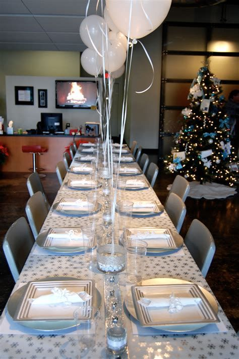 25 Office Birthday Ideas On A Budget Company Christmas Party Office Christmas Party Work Holiday Party