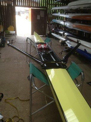CP23 — My aesthetic Empacher X15 Single Scull   Empacher   Rowing