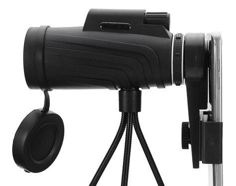 Cheapest hd zoom lens monocular telescope tripod clip for