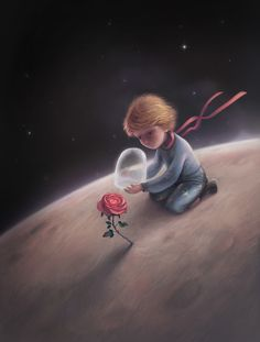 The little prince book illustrations 2©Palitra L Publishings