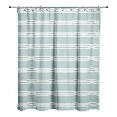 Winston Porter Mathes Single Shower Curtain Curtains Shower