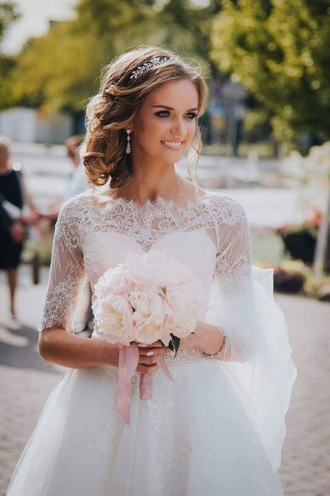 Jak Idealnie Dobrac Slubne Kolczyki Wedding Dresses Wedding Dresses Lace Dresses