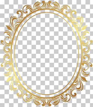 Marco Marco Deco Borde Oval Marco Adornado De Oro Oval Png Clipart Ornate Frame Yellow Framed Art Gold Frame