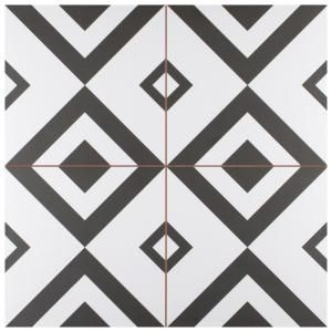 Merola Tile Brixton 17 5 8 In X Ceramic Floor And Wall 11 02 Sq Ft Case Fpebxt The Home Depot