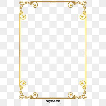 Gold Frame Frame Clipart Golden Frame Png Transparent Clipart Image And Psd File For Free Download Frame Border Design Frame Clipart Gold Pattern