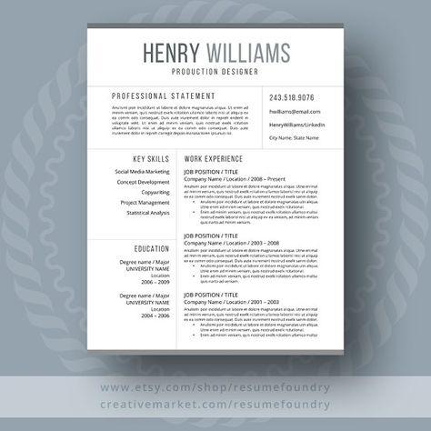 Creative Resume\/CV @creativework247 Resume Skills Pinterest - creative resume objectives