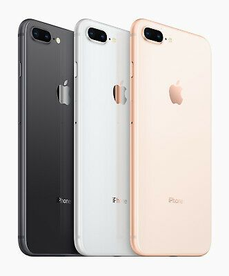 Apple Iphone 8 Plus 8 64gb 256gb Verizon At T T Mobile Gsm Unlocked Gold Silver T Mobile Phones Iphone Apple Iphone