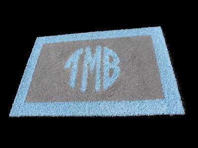 Custom Monogram Border Rug Available From Creative Carpet Design  Www.creativecarpetdesign.com 800