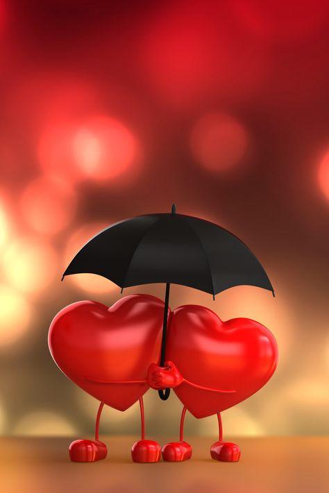 romantic,love,umbrella,wedding,dream,red