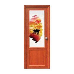Kerala Kitchen Glass Door Design