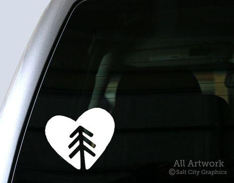 Laptop Mountains Pine Tree Pine Tree Life Bumper,Vinyl Car Sticker travel