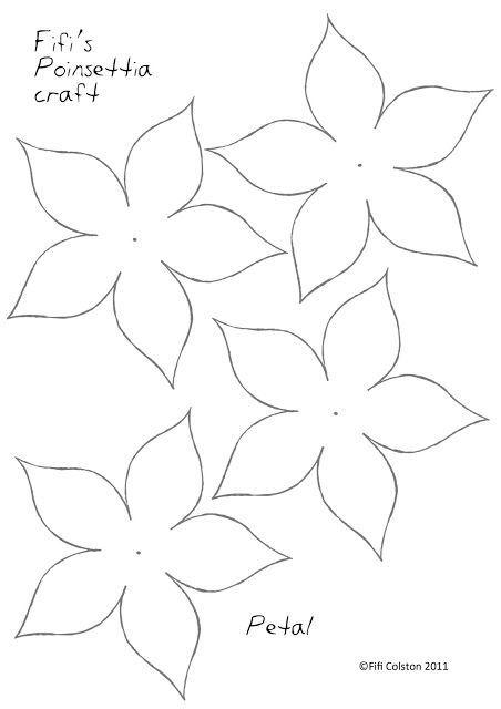 Como Hacer Nochebuenas De Papel Artesanías Flores De Papel