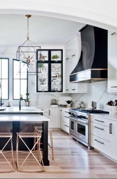 25 Black White Kitchen Cabinet Ideas Appliances Cabinets